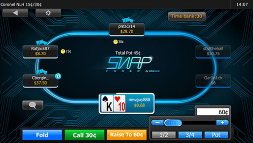 888poker Mobile Table